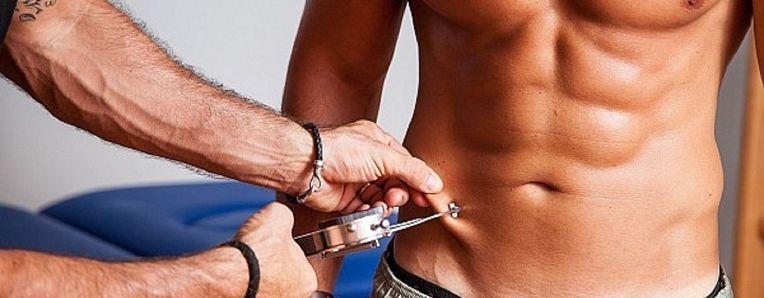 strumento per misurare il grasso corporeo